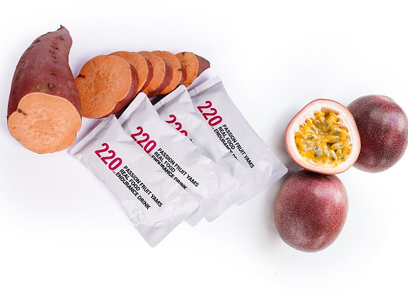Passionfruit Date Energy And Hydration Endurance Drink Mix
