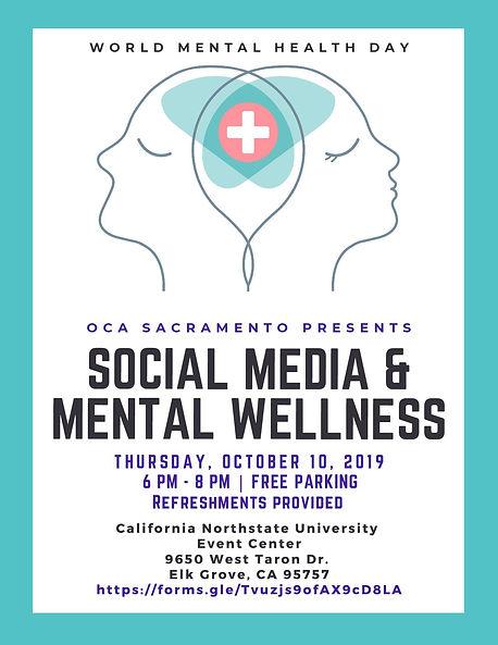 Social Media  Mental Wellness 09.16.2019