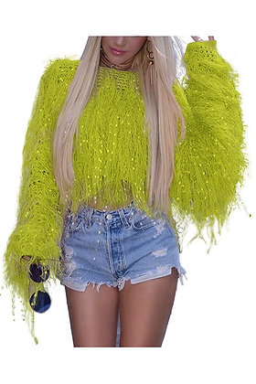Shag Party Neon Glam Sweater