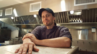 Chef Joseph Bevilacqua. Head Chef of La Casita Mexican Retaurant in Wilmington, Vermont