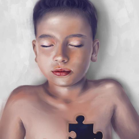 Organ Donation Illustration Poster