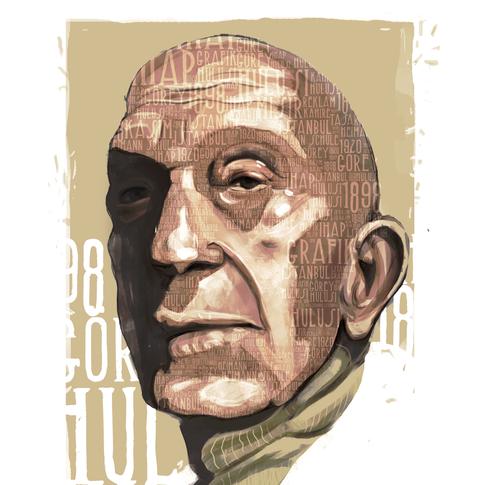 Ihap Hulusi Gorey Typographic Illustration