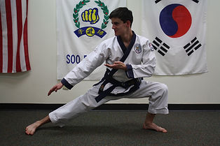 soo bahk do of cary instructor aaron lando