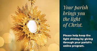Your Parish brings you the light of   Ch