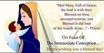 Feast of the Immaculate Conception\