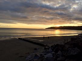 Sunset Charmouth