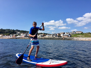 Paddle Boarding Lyme Regis