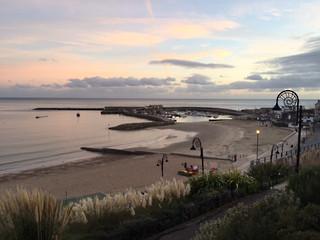Lyme Regis at dusk