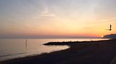 West Bay sunset