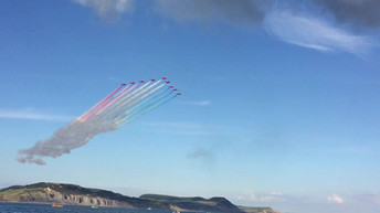 Red Arrows Lyme Regis