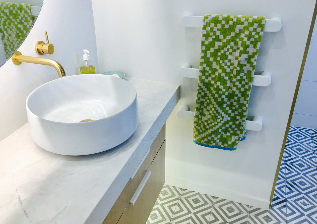 Adding interest & texture with tiles