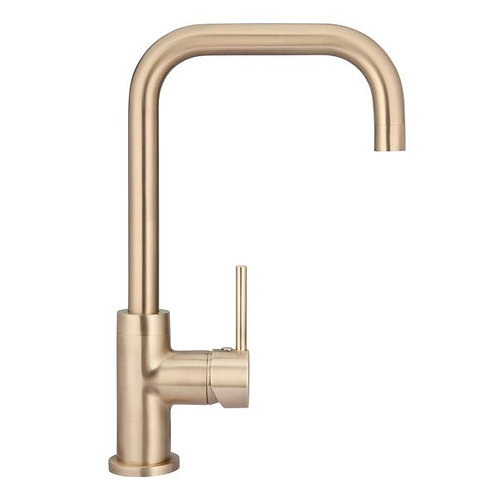 MEIR Traditional Kitchen Tap - Champagne