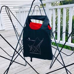 Black framed Flutter Butterfly Chair