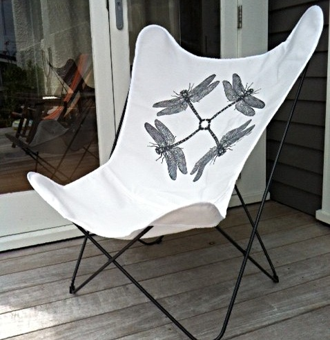Flutter Chair + artist cover