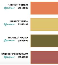 Flutter Chair frame colour options 3