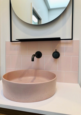 PINK CONCRETE BASIN by LK&CO