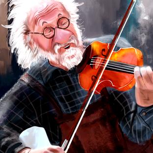 O violinista