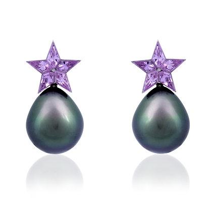 STAR PINK Earrings
