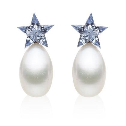 STAR BLUE Earrings