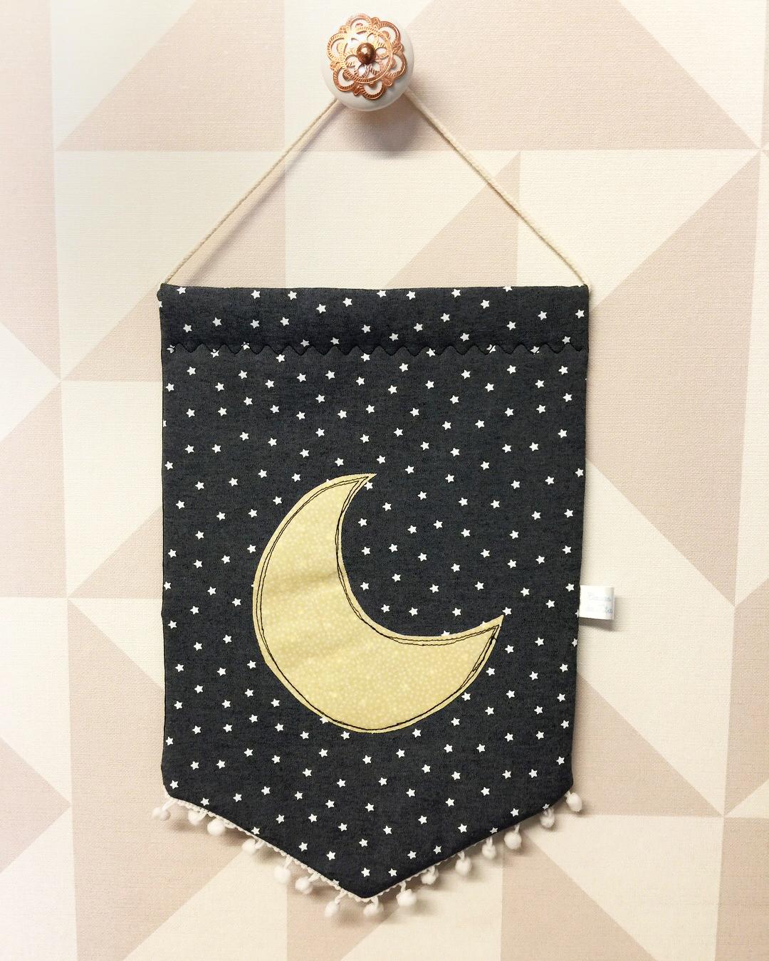 Flâmula na decoração do quarto do bebê