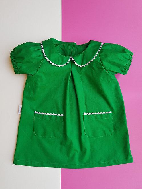 Vestido Flora Verde