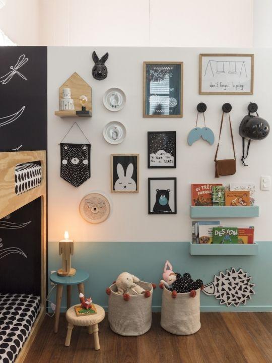flâmula na decoração do quarto infantil