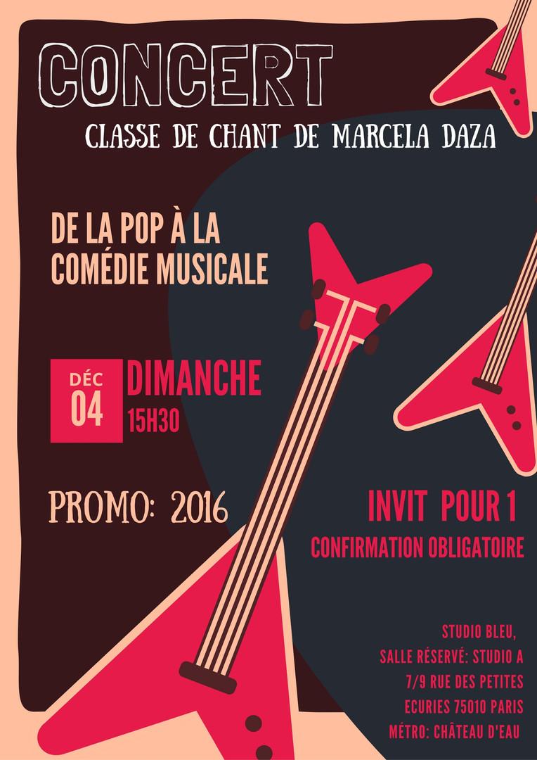 Concert 4 Déc 2016