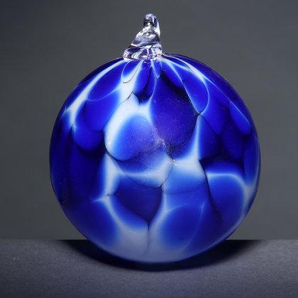 Blue Frit Ornament