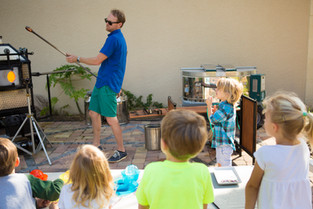 One of a Kind Art Class with Glassblower Conrad Williams