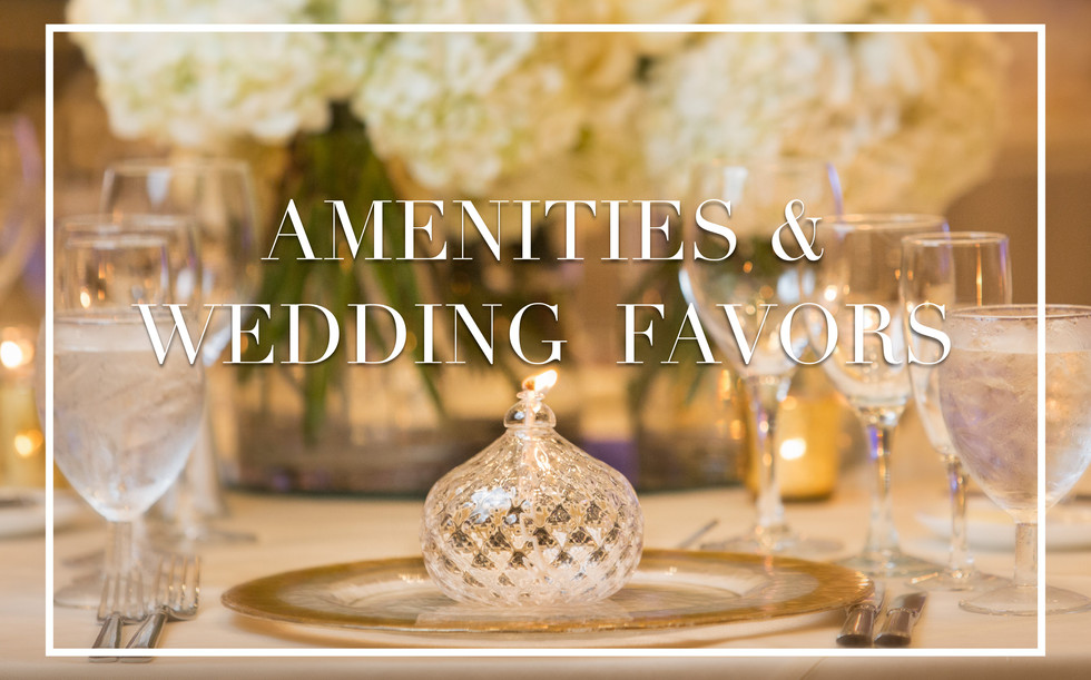 Wedding and Event Planning Favors