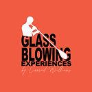 Orange bakground Glassblowing experience