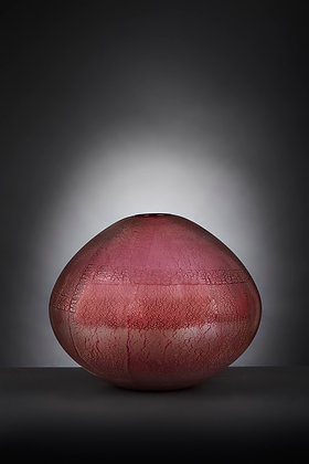 Cranberry and Silver Football
