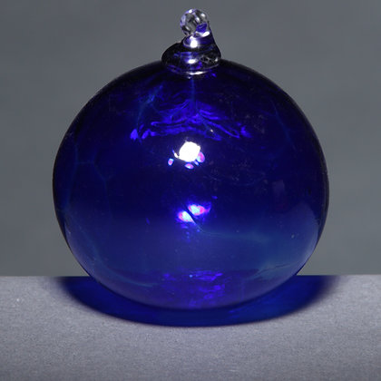 Transparent Blue Ornament