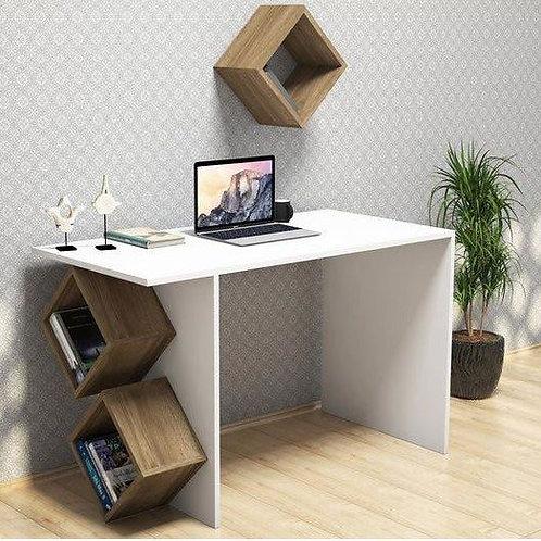 Письменный стол и полка-кубик Ледава