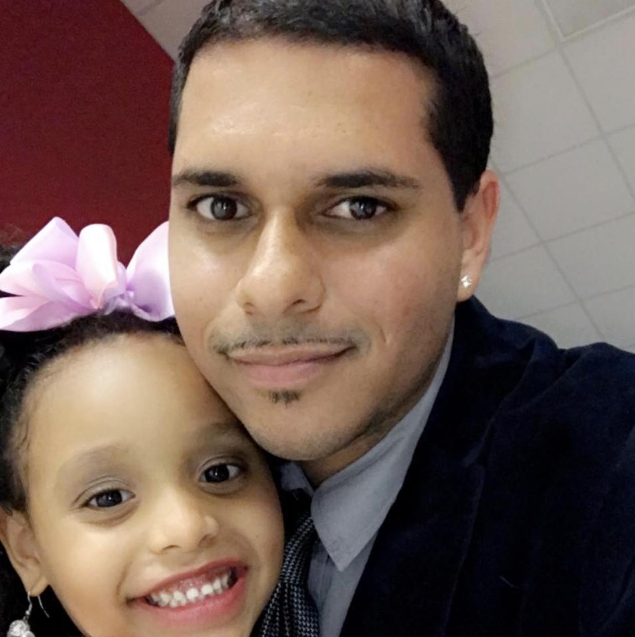 Justin & daughter