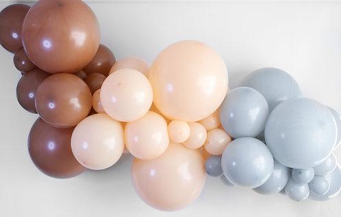 Ballong Girlander 1.7 m - Brun/Grå