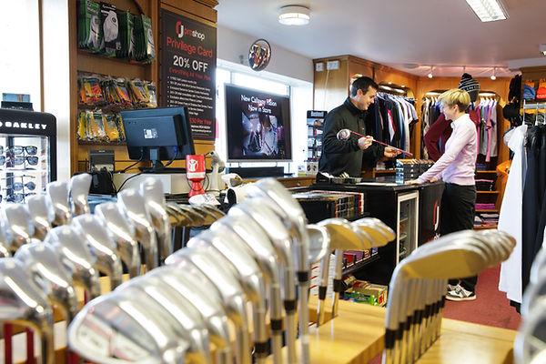 golf pro shop customer service