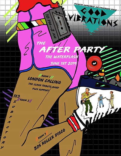 good vibrations after party