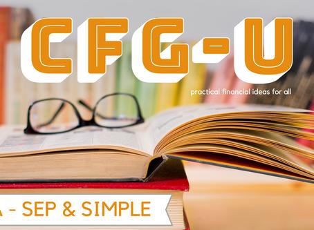 IRA - SEP and SIMPLE #CFG-U