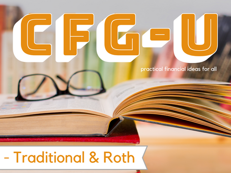 IRA - Traditional and Roth #CFG-U