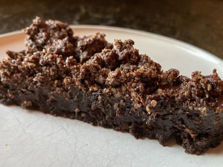 Chocolate chip cookie Brownie!?