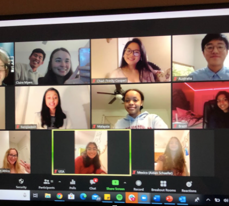 Model UN Now Conducted Via Moderated User Network