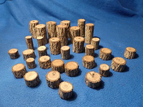 Black walnut mini logs
