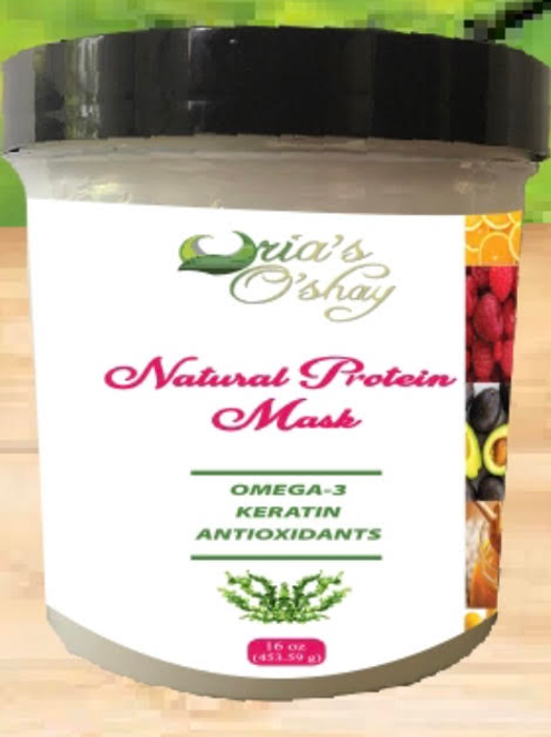 Natural Protein Mask 16 oz