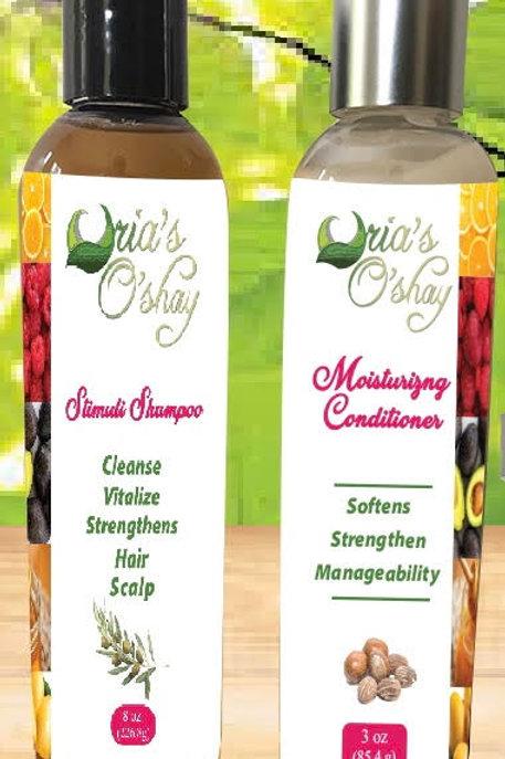 Oria's O'Shay Stimuli Shampoo/ Moisturizing Conditioner