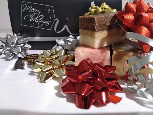 Deluxe Christmas Fudge Box