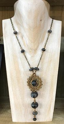 Larvikite Necklace