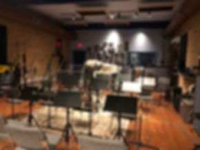 Big Band set up/Record Prep