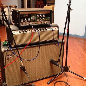 Fender 100w Band Master, Roland 301 space echo