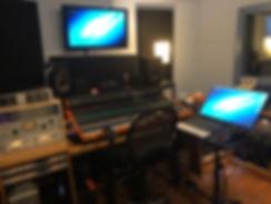 My studio control room
